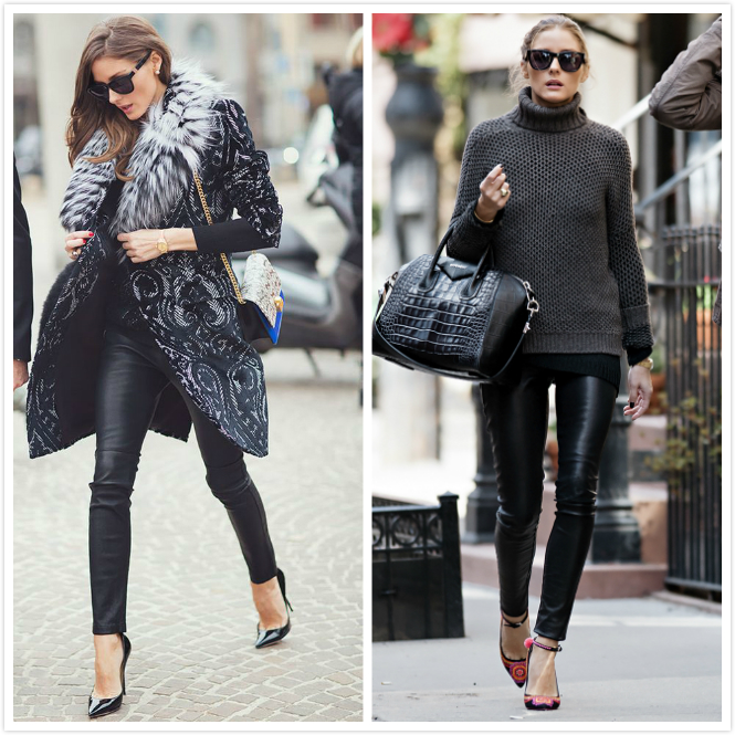 leater pants olivia palermo