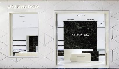 BALENCIAGA巴黎世家微風信義全新概念店景照-1