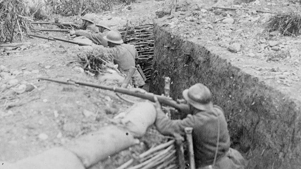 trenches-italian-front